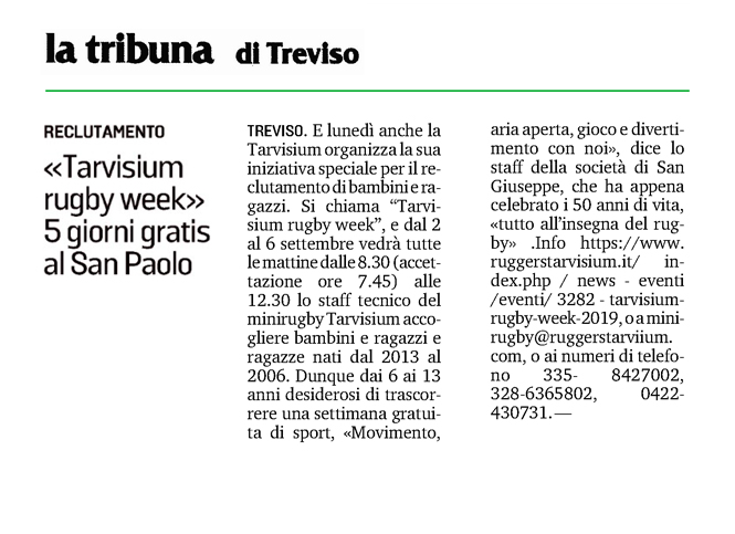 tribuna 31 08 19 rugby week